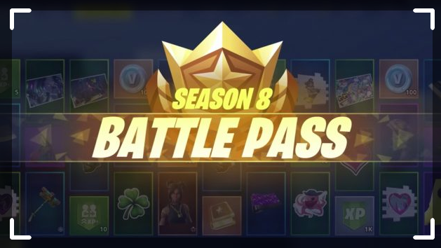 Fortnite Season 8 battle pass guide free v-bucks new skins 2019